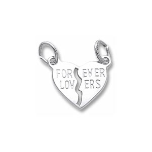 Forever Lovers Charm by Forever Charms - Personalized