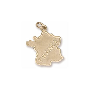France Charm by Forever Charms - Personalized