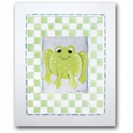Freddy Frog - Baby Frog Framed Canvas Wall Art