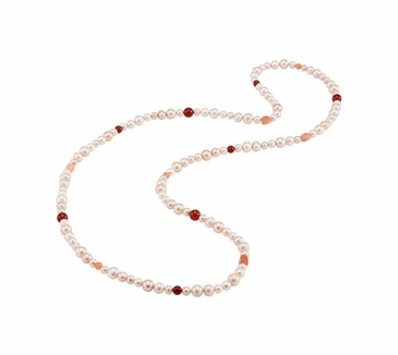 Freshwater Cultured Multicolored Pearl necklace