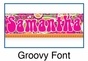 Groovy Growth Chart Personalized - click to Enlarge