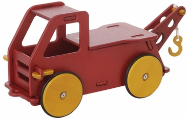 HABA Moover Baby Truck Red