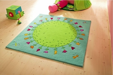 HABA Planet of Flowers Rug