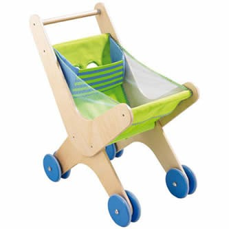 HABA Wooden Shopping Caddy