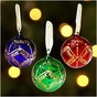 Hand Painted Birthstone Ornament - click to Enlarge