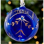Hand Painted Birthstone Ornament