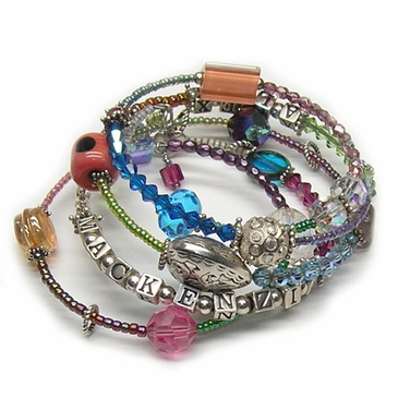 Happy Wrap Bracelet - Personalized