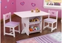 Heart Table and 2 Chairs Set - click to Enlarge