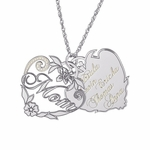 """""""Hearts and Flowers"""" Family Necklace"""