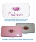 Hearts Wipes Container with Swarovski© Crystals - click to Enlarge