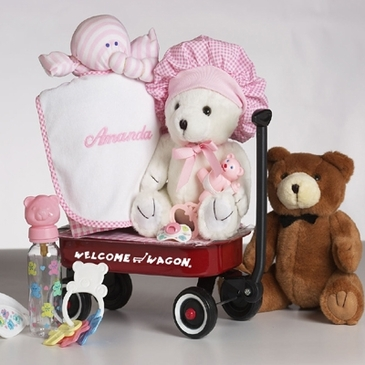 """""""Hello World!"""" Gift Basket for Girl  (Personalized)"""