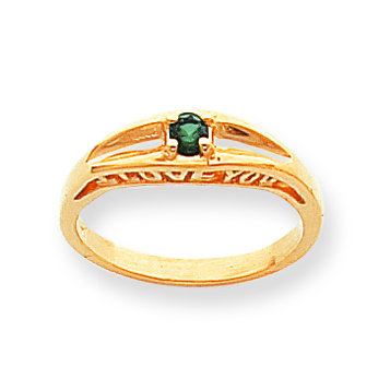 """""""I Love You"""" Family Ring"""
