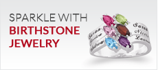 Sparkle with Birthstone Jewelry