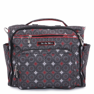 ju ju be b f f diaper bag magic merlot. Black Bedroom Furniture Sets. Home Design Ideas