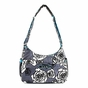 Ju-Ju-Be Classic Hobobe Charcoal Roses Diaper Bag - click to Enlarge