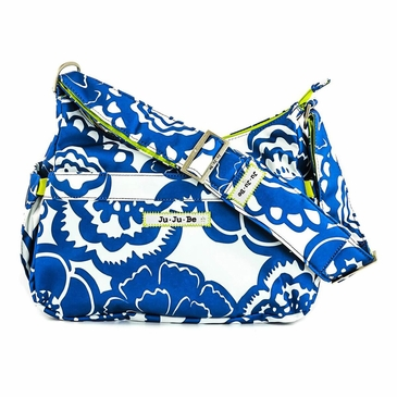 Ju-Ju-Be Classic Hobobe Cobalt Blossoms Diaper Bag