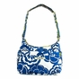 Ju-Ju-Be Classic Hobobe Cobalt Blossoms Diaper Bag - click to Enlarge