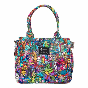 Ju-Ju-Be Tokidoki Be Classy Kaiju City Diaper Bag  (Limited Edition)
