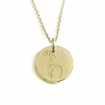"""Julian & Co."" 18K Gold Necklace - For Mom or Dad"
