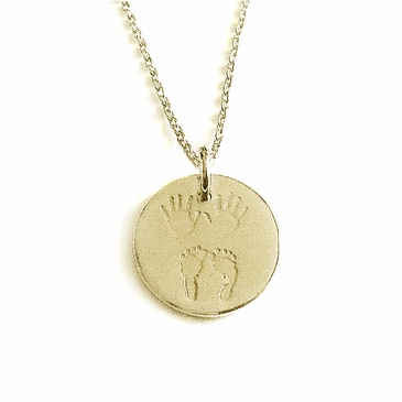"""""""Julian & Co."""" 18K Gold Necklace - For Mom or Dad"""