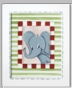 Jungle Junior - Elephant Framed Canvas Wall Art - click to Enlarge