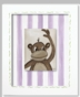 Jungle Junior - Monkey Framed Canvas Wall Art - click to Enlarge