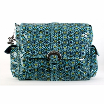 Kalencom Coated Buckle Diaper Bag - Dixie Diamonds