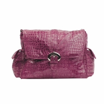 Kalencom Crocodile Diaper Bag - Crocodile Wine