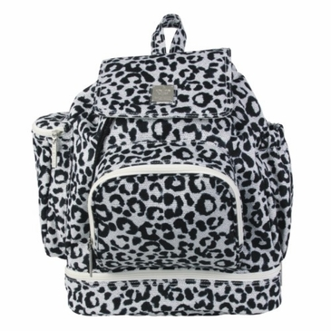 Kalencom Diaper Backpack Bag - Leopard Black & White