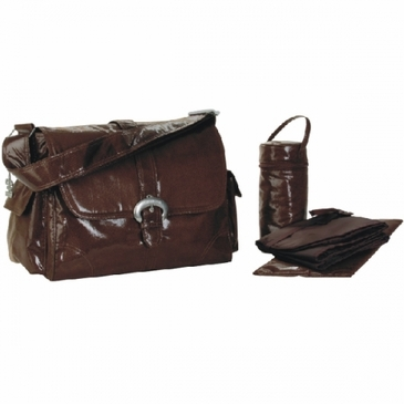 Kalencom Fire & Ice Diaper Bag - Chocolate