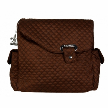 Kalencom Ozz Quilted Diaper Bag - Manhattan Copper