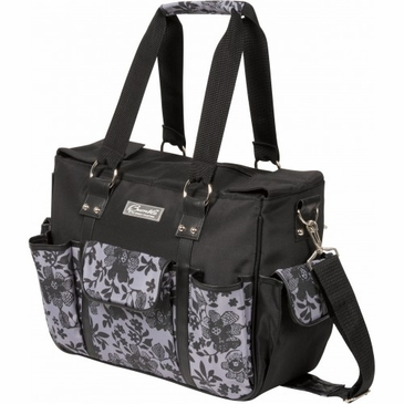 Kelly Commuter Lace Floral Diaper Bag by Bumble Bags