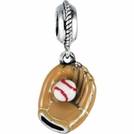 Kera™ Baseball & Glove Dangle