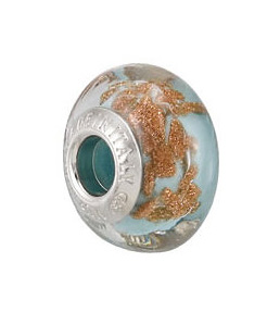 Kera™ Bella Viaggio Blue Glass Bead with Aventurina