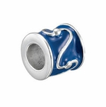 Kera™ Blue Enamel Tube Bead