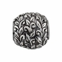 Kera™ Leaf Pattern Bead - click to Enlarge