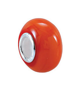 Kera™ Orange Glass Bead