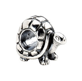 Kera™ Sterling Silver Turtle Bead