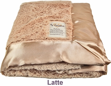 Latte Luxe Blanket by My Blankee