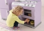 Lavender Retro Kitchen and Refrigerator - click to Enlarge