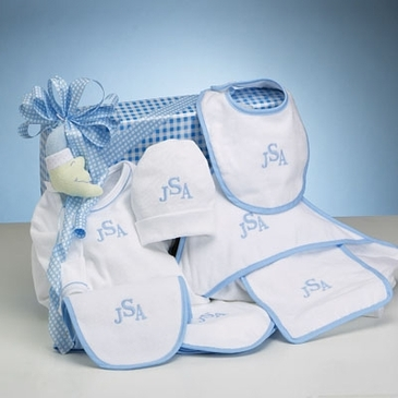 Layette Collection Boy Gift Set (Personalized)