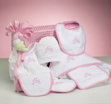 Layette Collection Girl Gift Set (Personalized)