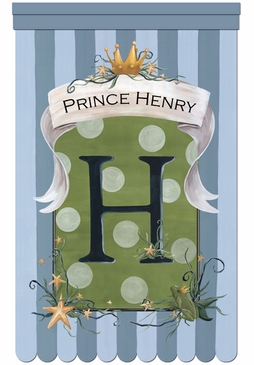 Le Petit Prince Wall Hanging Personalized by Dish and Spoon