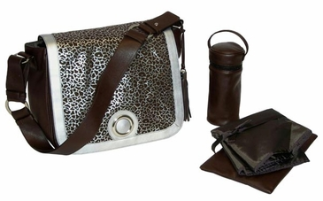 Leopard - Madonna Diaper Bag by Kalencom