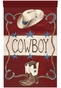 Lil' Buckaroo Wall Hanging Personalized by Dish and Spoon - click to Enlarge