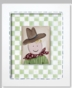 Lil Wrangler - Cowboy Framed Canvas Wall Art - click to Enlarge
