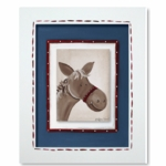 Lil Wrangler - Horse Framed Canvas Wall Art