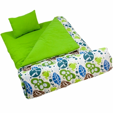 Lily Frogs Kids Sleeping Bag