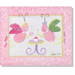 Little Lady - Tea Party Canvas Wall Art