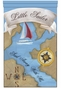 Little Sailor Wall Hanging Personalized by Dish and Spoon - click to Enlarge